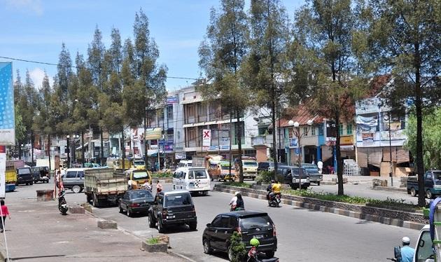 Kota Berastagi Galeri Wisata Nusantara