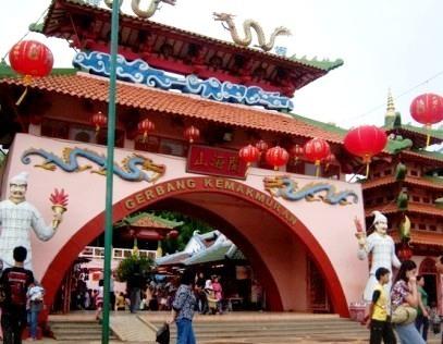 Kampung China Kota Wisata Cibubur Galeri Wisata Nusantara